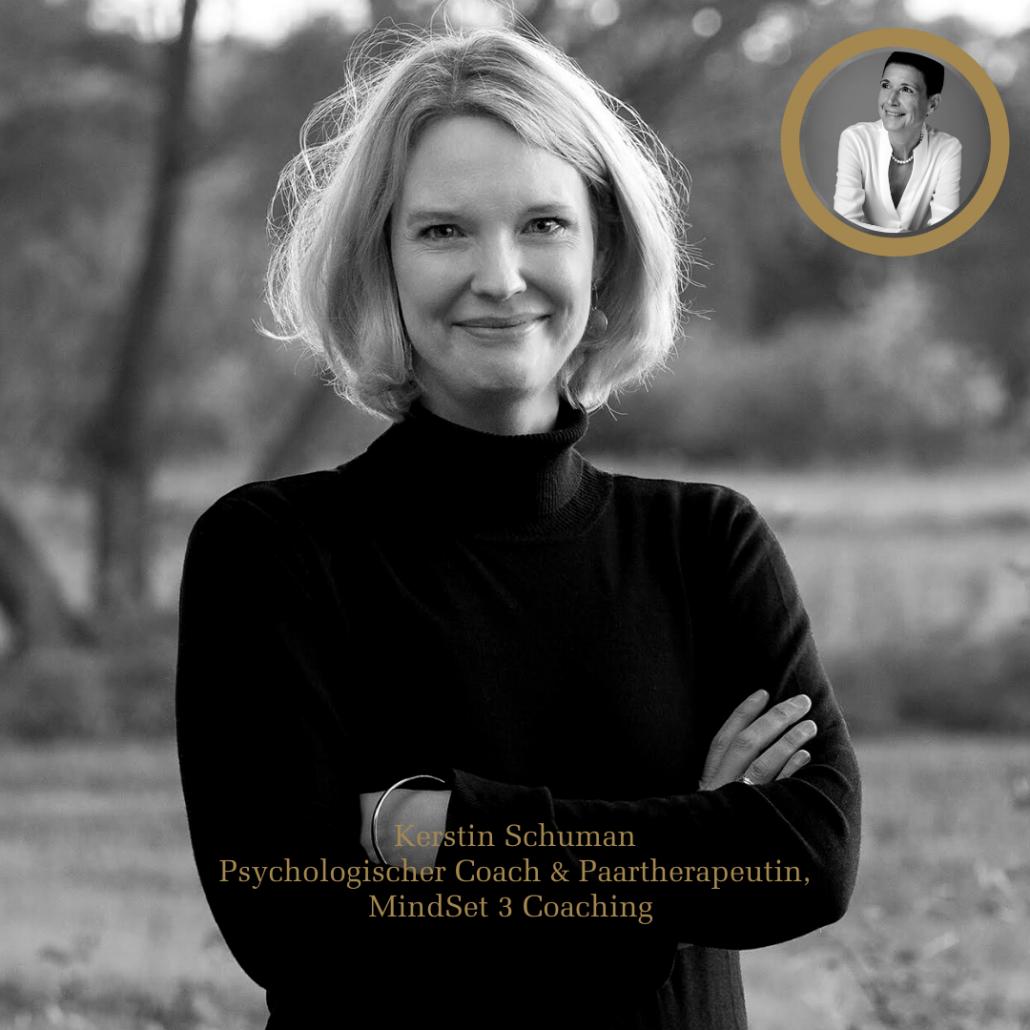 Kerstin Schuman, MindSet 3 Coaching, zu Gast bei Mindset First Podcast